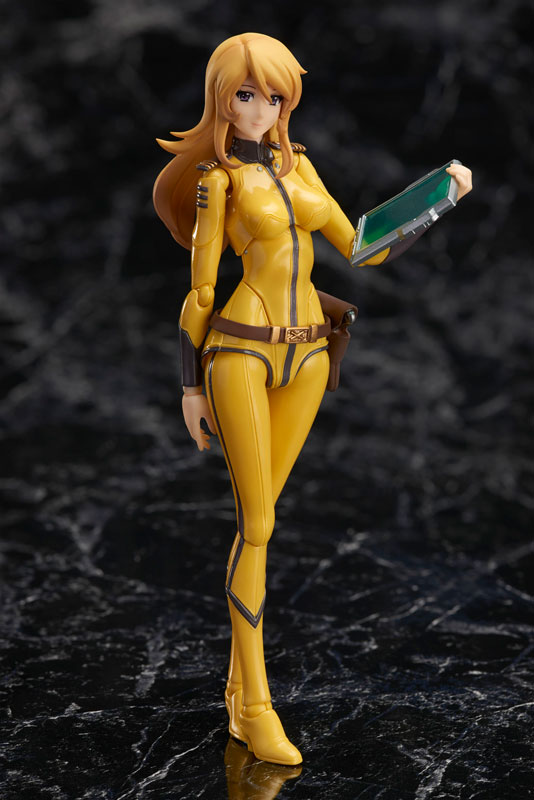 Space Battleship Yamato 2202: Warriors of Love Original BANDAI Tamashii Nations S.H. Figuarts / SHF Action Figure - Yuki Mori