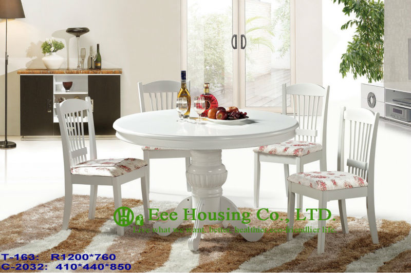 T-163,C-2032  Luxurious Solid Dining Chair,Solid Wood Dinning Table Furniture With Chairs/Home Furniture