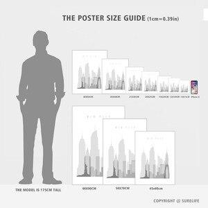 Image 5 - 현대 알라 이슬람 blesse 따옴표 핑크 꽃 캔버스 회화 벽 아트 그림 인쇄 및 포스터 거실 홈 장식