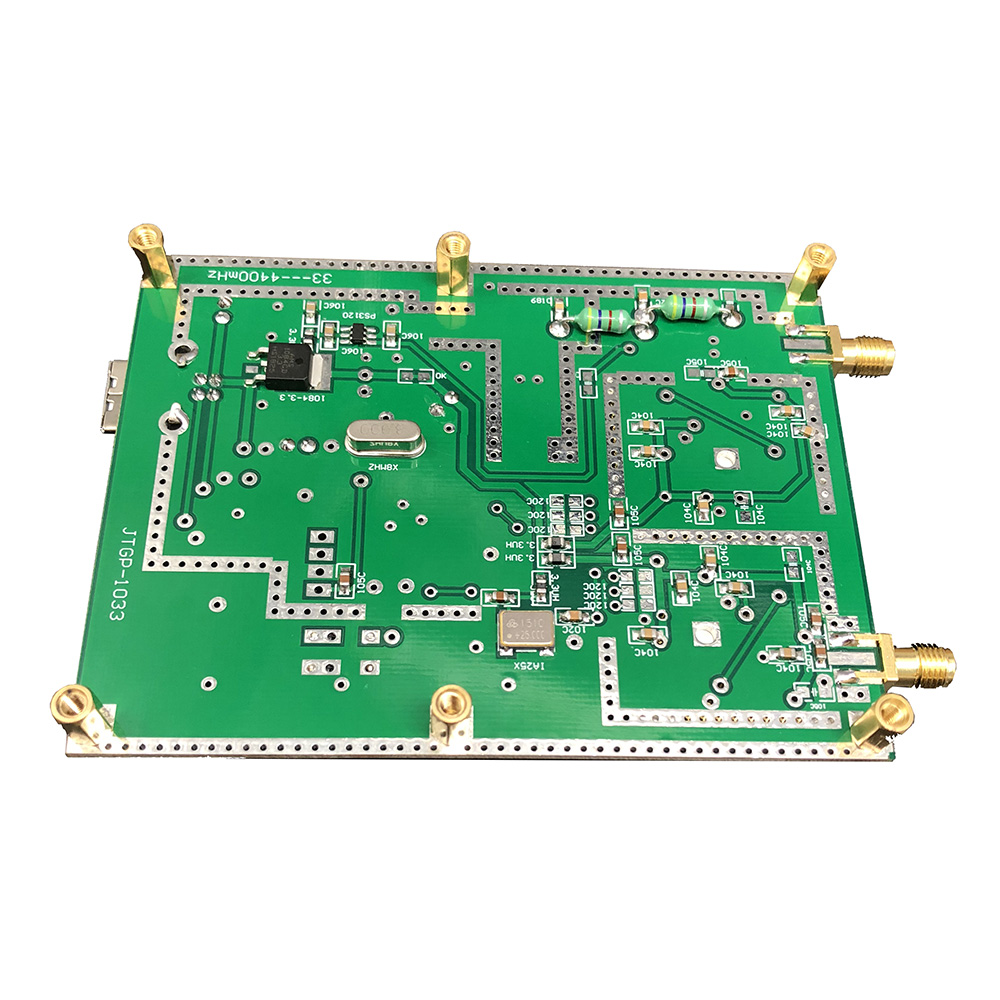 Image 5 - Simple Spectrum Analyser D6 with Tracking Source T.G. V2.02 Simple Signal Source RF Frequency Domain Analysis Tool-in Amplifier from Consumer Electronics