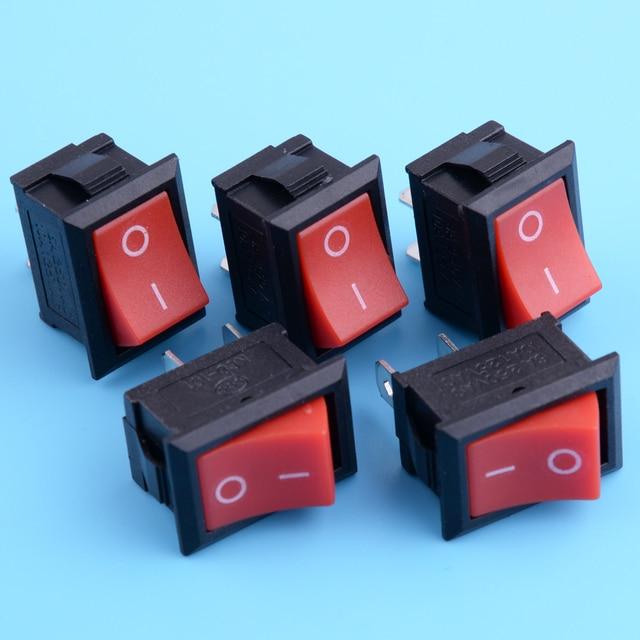 LETAOSK, новинка, 5 шт., переключатель для остановки огня, переключатель для китайской бензопилы 25 куб. См, 26 куб. См