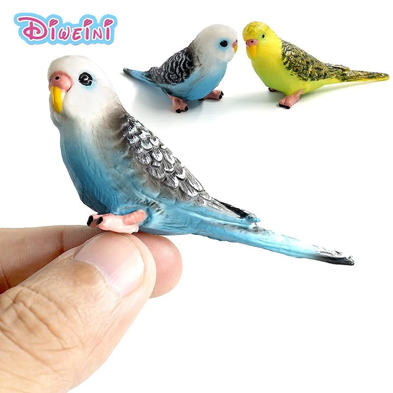 Simulazione Pappagallo Giocattolo ~ Foresta Animali modello bambola - Figurine giocattolo