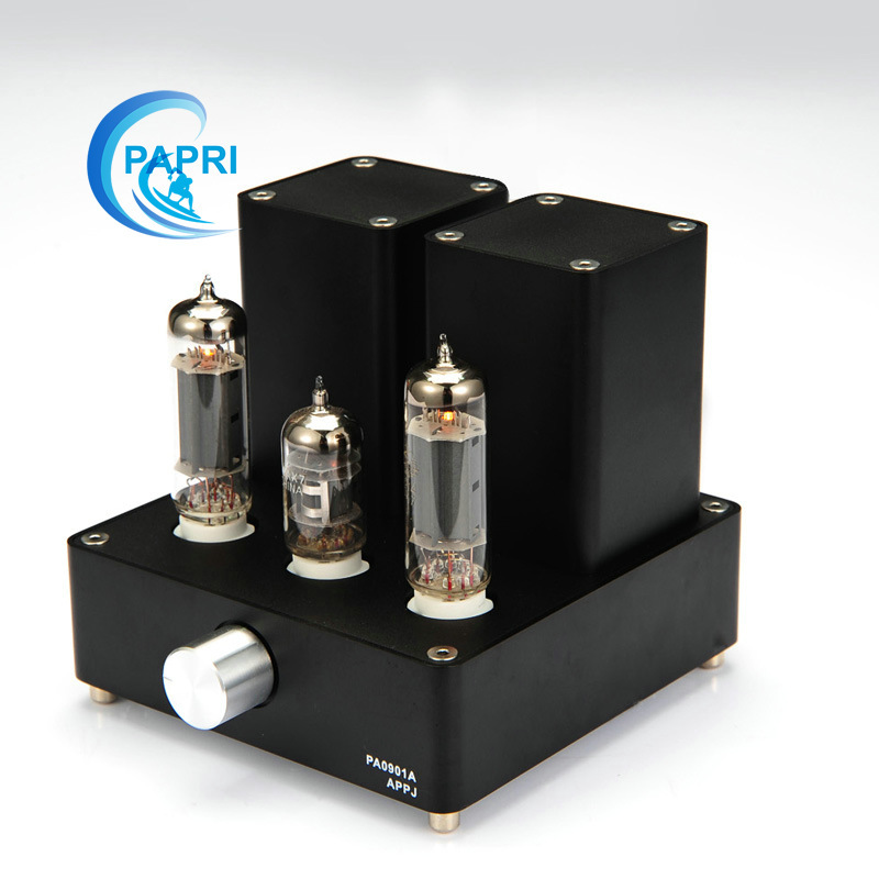 Black Mini tube Amplifier APPJ PA0901A  Original Minwatt N3 Smallest Tube Audio Amplifier 6N4+6P14 Tube upgrade to EL84+12AX7B kids girls crib shoes baby items for small first walkers sapatos infatil soft sole baby shoes moccasin footwear 603043