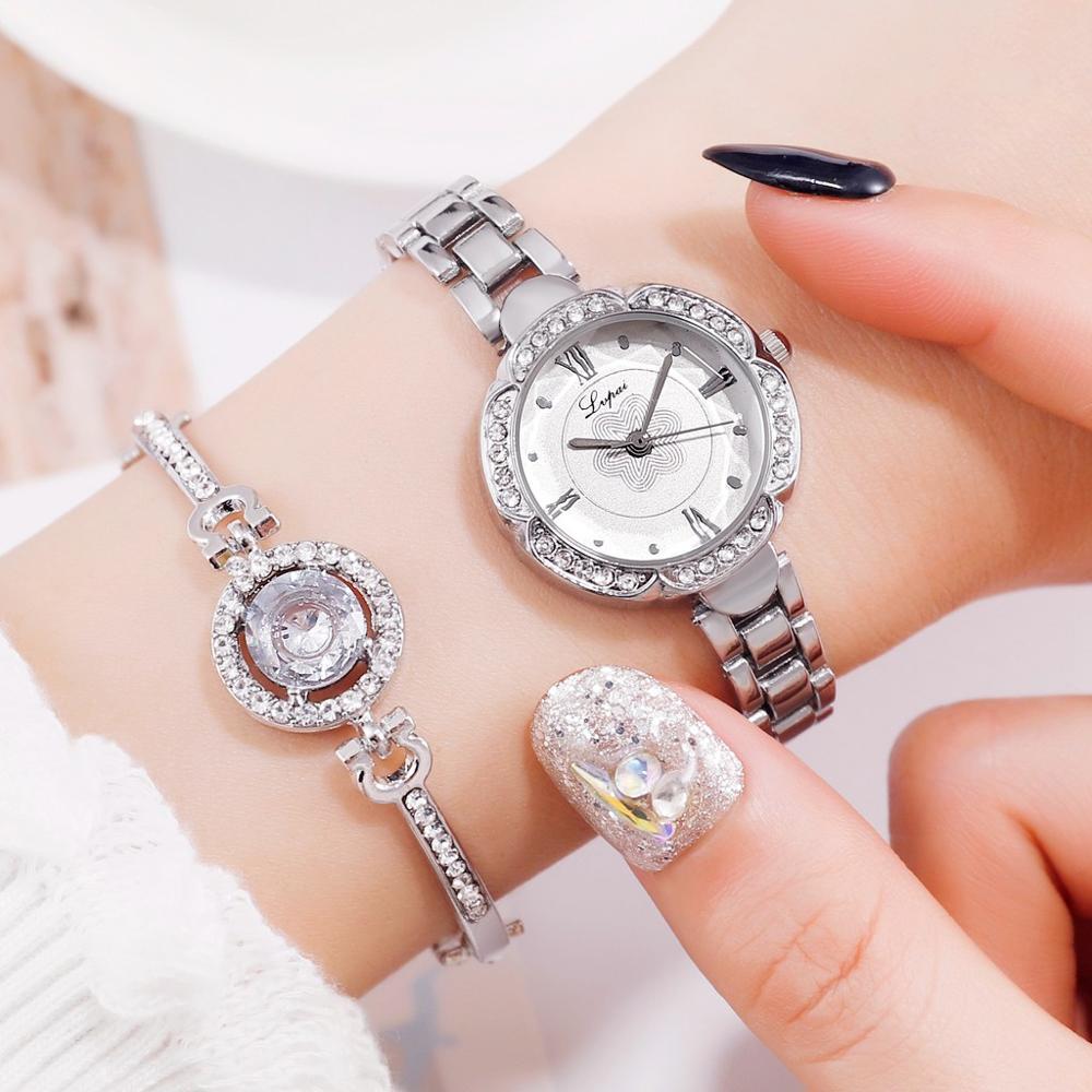 Silver White Bracele