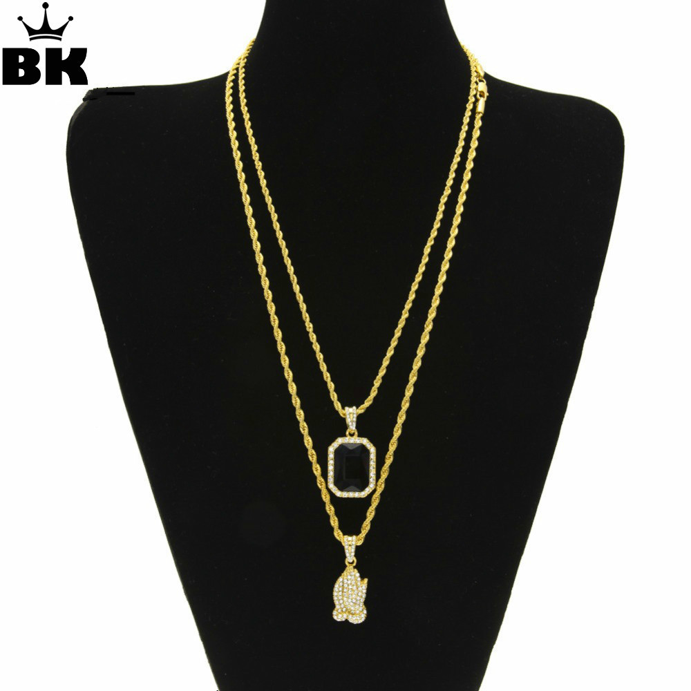 Lightrain Galaxy Pendant Necklace Vintage Bronze Chain Statement Necklace Handmade Jewelry Gifts