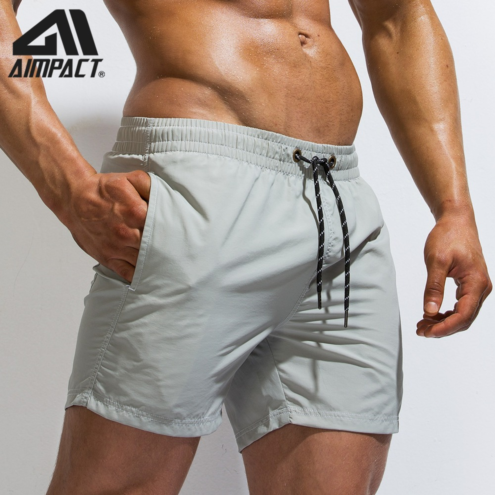 Mens Swim Trunks Quick Dry Summer Holiday Beach Shorts with Mesh Lining Love Pattern Collage Beachwear