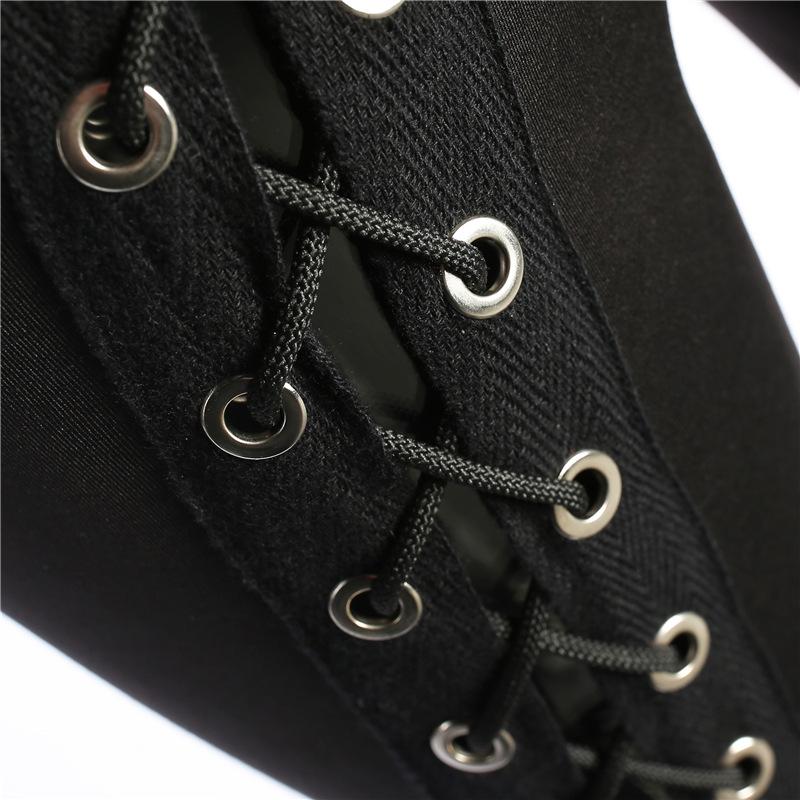 HTB1KeLRRVXXXXX9XVXXq6xXFXXXv - Stripe sexy side cross line Black Hole pants JKP158
