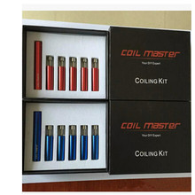 TOP SuperQuality Classic 2 Color e Cigarette Wire Winder Coiling Kit Master tool Coil Jig V2 Coil Maker Full kit,XSE10