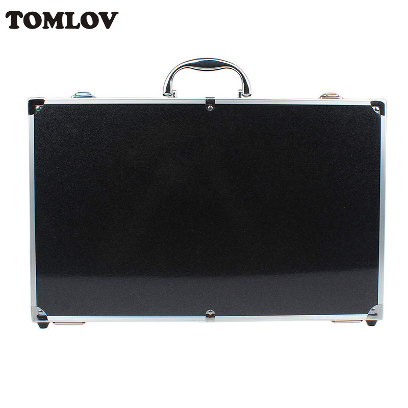 TOMLOV Hard Box Carrying Black Case Handbag For Hubsan H501S X4 FPV RC Helicopter  Waterproof Suitcase pgytech safety carrying case for spark camera drone accessories waterproof hard eva foam equipment carrying