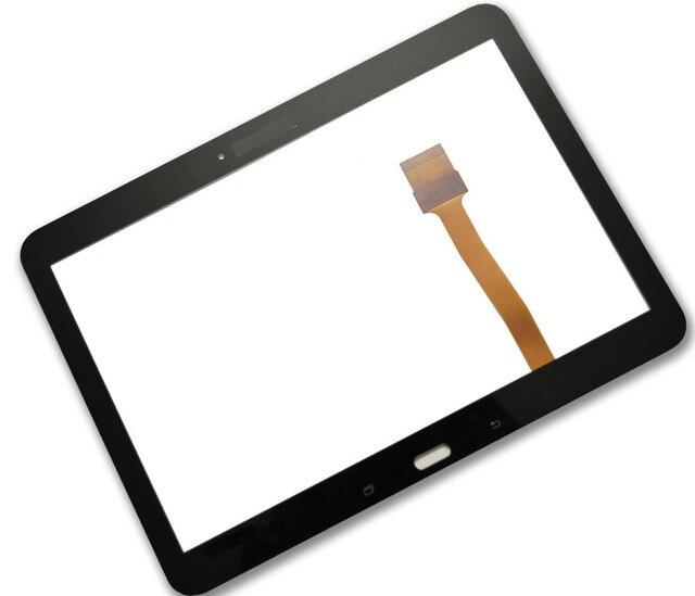 Бесплатная доставка высокое качество Ремонт часть Для Samsung Galaxy Tab 4 10.1 SM-T530 T531 T535 Черный сенсорного Экрана digitizer Стекло
