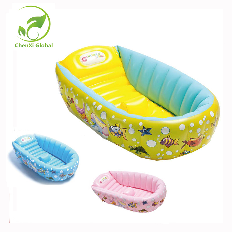 New Design Kids Thickening BathTub Wash Bowl Folding Baby Tub Swimming Pool Portable Inflatable Baby Bathtub inflatable baby swimming pool tub infant thicken security inflating bathtub bathing shower pad folding children washbowl d3