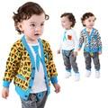 Anlencool Бесплатная доставка Осень Европейских и Американских 3 шт. детские хлопок костюмы детская одежда детская одежда устанавливает 0-2 лет одежда