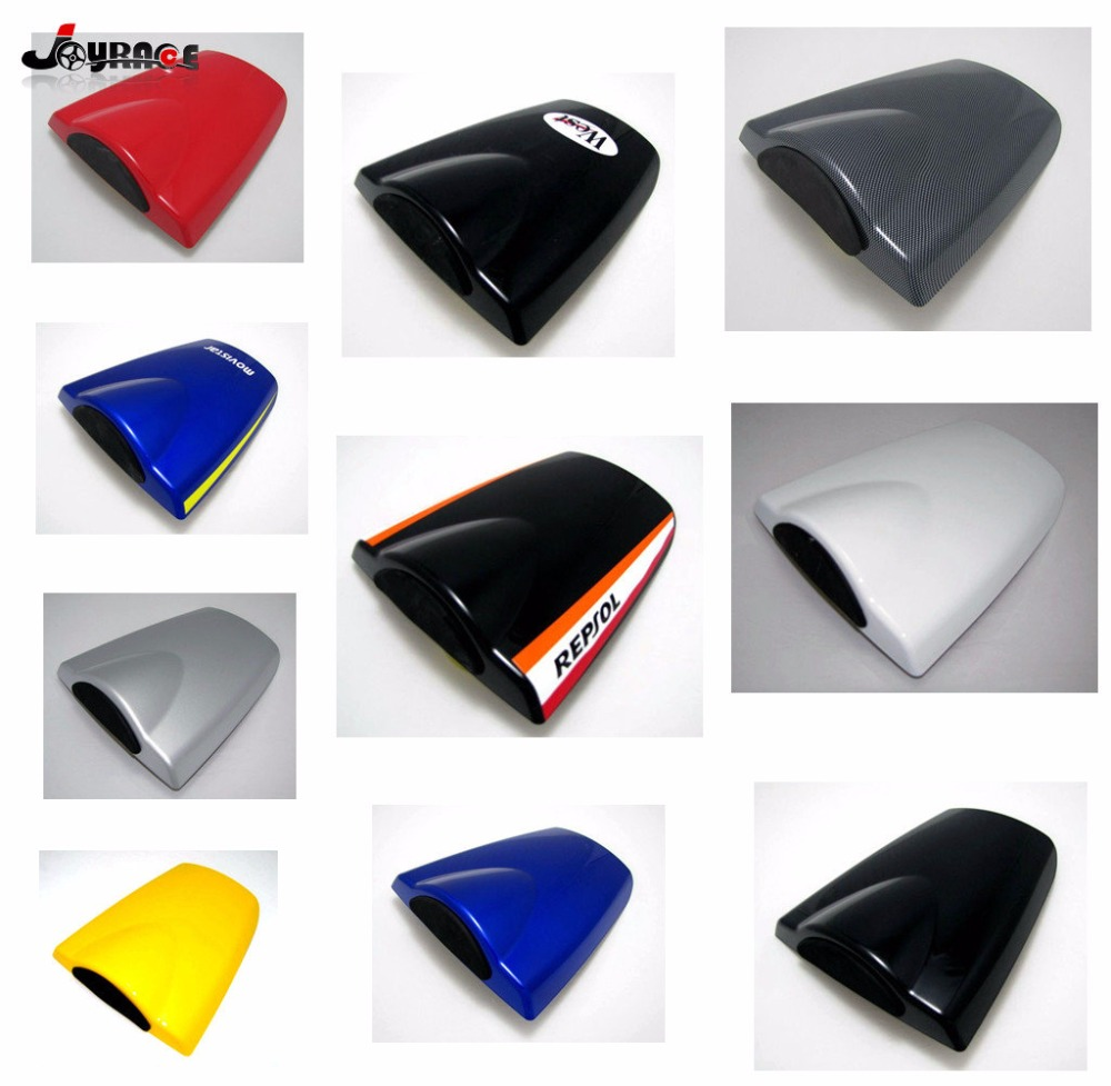 Motorcycle Rear Seat Cowl Cover Solo Seat Cover For Honda CBR 600 RR CBR600RR 600RR 03-06 2003 2004 2005 2006 motorcycle rear seat cover tail section fairing cowl for 2007 2012 honda cbr600rr 2008 2009 2010 2011 cbr 600rr 600 rr 07 08 09