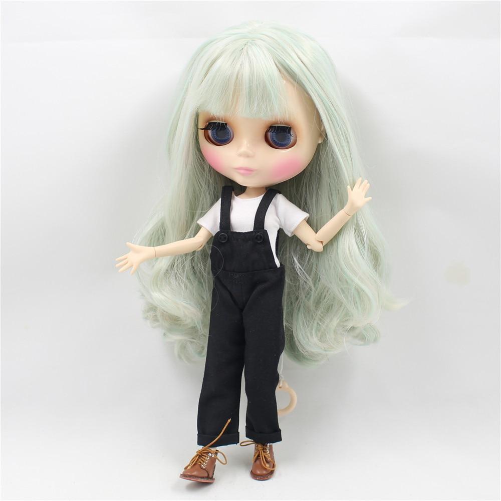 Neo Blythe Doll Black Rompers White Shirt 1