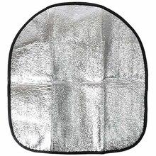 44*50 см автомобильный солнцезащитный козырек крышка новая серебряная алюминиевая пленка Автомобильный руль тент крышка Солнцезащитный козырек отражающий солнцезащитный козырек