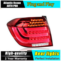 Car Styling LED Tail Lamp For Toyota Highlander Taillights 2012 2014 Rear Light DRL Turn Signal