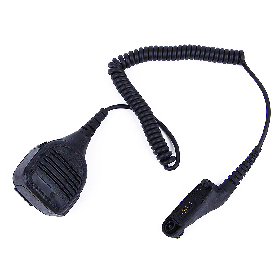 100 Pcs Heavy Duty Rugged Speaker Mic PTT For Motorola Walkie Talkie DP4400 DP4401 APX2000 DGP8550 DGP8050 Two Way Radio