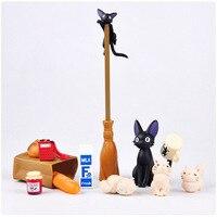 Анимация гараж ребенком Хаяо Миядзаки анимация модель игрушки: Artbox фигурку ПВХ Куклы Кики Услуги модель KT038