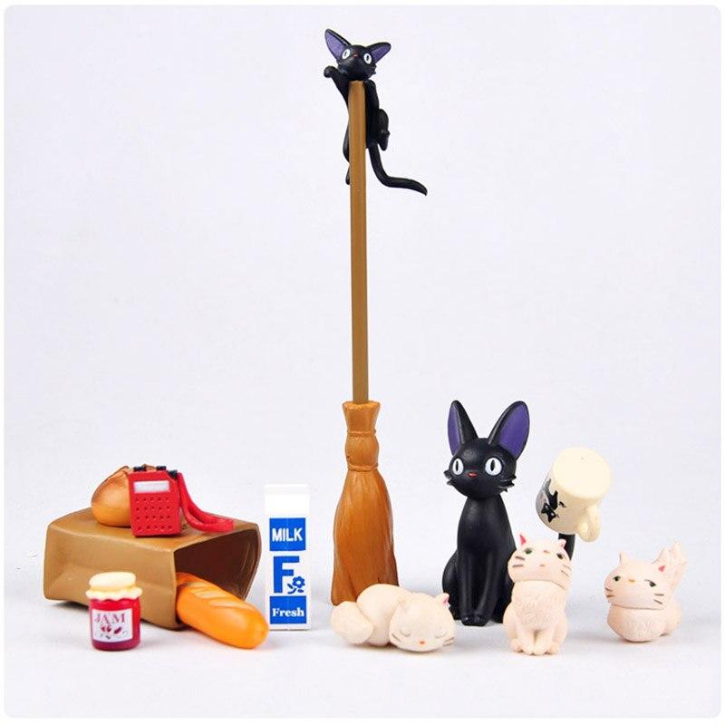 Animation Garage Kid Hayao Miyazaki Animation Model Toys: artbox Action Figure PVC Dolls Kiki's Delivery Service Model KT038 new kiki gigi bakery kiki s delivery service reconstruction animiation action figure doll house kid toy miniature diorama model