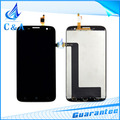 mobile phone lcd for Lenovo A859 screen display with touch digitizer assembly replacement repair parts free shipping 1 piece