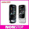 6303c Original Unlcoked Nokia 6303 classic Bluetooth MP3 mobile phone