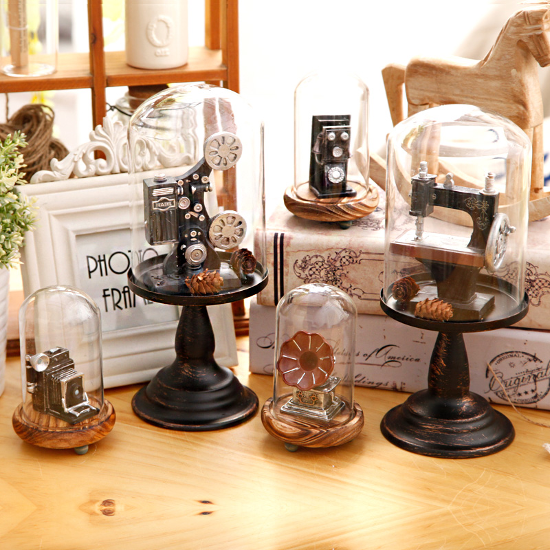 The Glass Ornaments Home Furnishing Living Room Room Wine Computer Desk Women's Clothing Store Small Soft Decoration