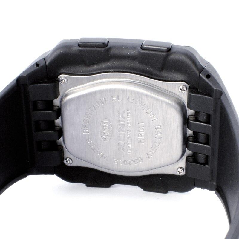 BINZI роскошные часы мужские спортивные часы для мужчин светодиодные цифровые водонепроницаемые часы военные мужские кварцевые наручные час... - 5