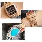 2018 женские наручные часы Стальные Новые женские часы классические роскошные Брендовые женские часы Relogio Feminino - 6