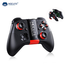MOCUTE 054 Bluetooth Gamepad Android PC Wireless Remote Controller Crystal Button Joystick Game Pad for Smartphone