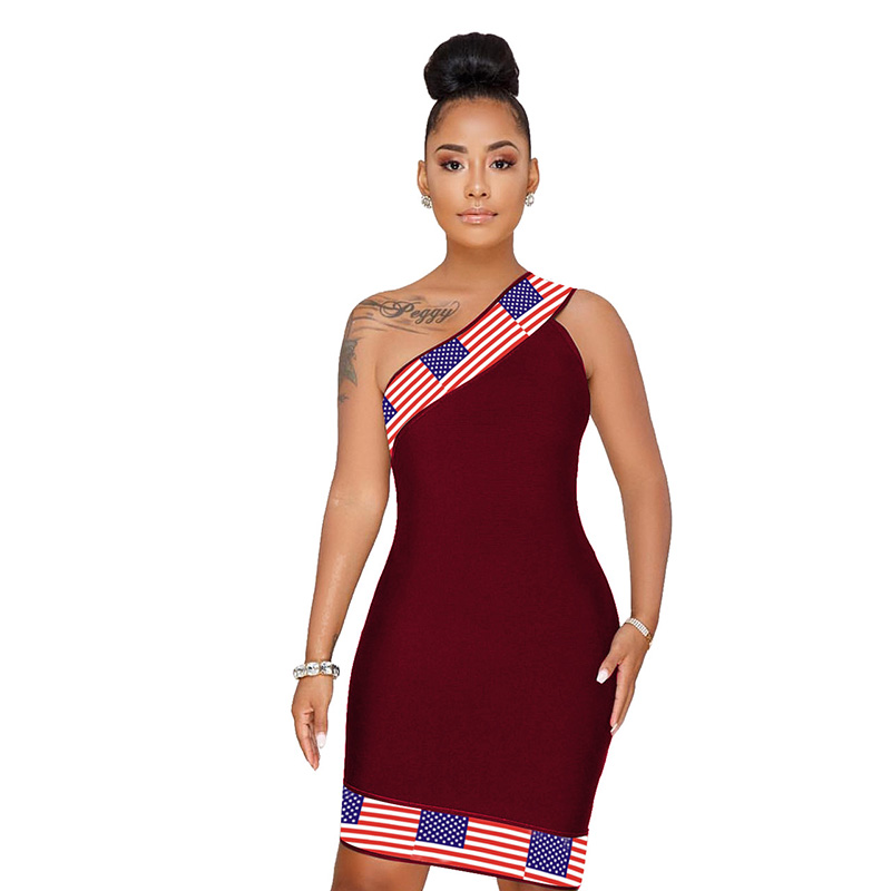 Buy american flag sundress and get free shipping on AliExpress.com d51bd070efbe