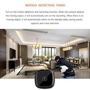 Image 3 - New C9 DV 1920x1080P HD 2MP Mini Camera Night Vision Camcorder Car Sport DV DVR Recorder with 6 high bright LED lights