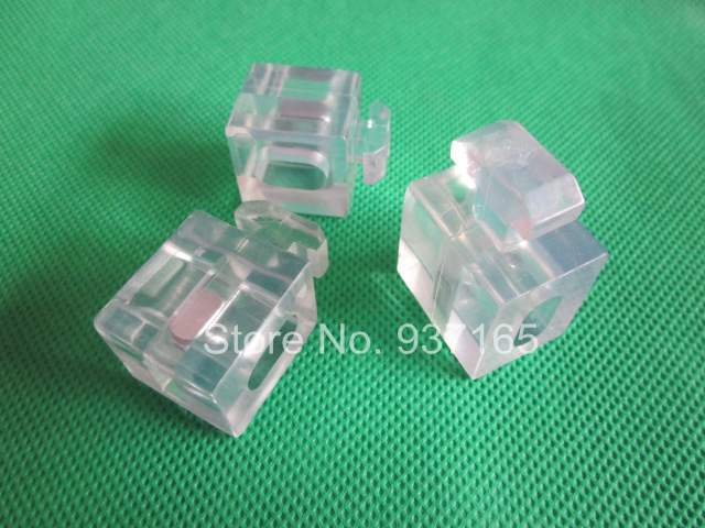 Plastic PVC Block Connector for Aluminum Profile 4545 45x45 with Slot Groove 10mm