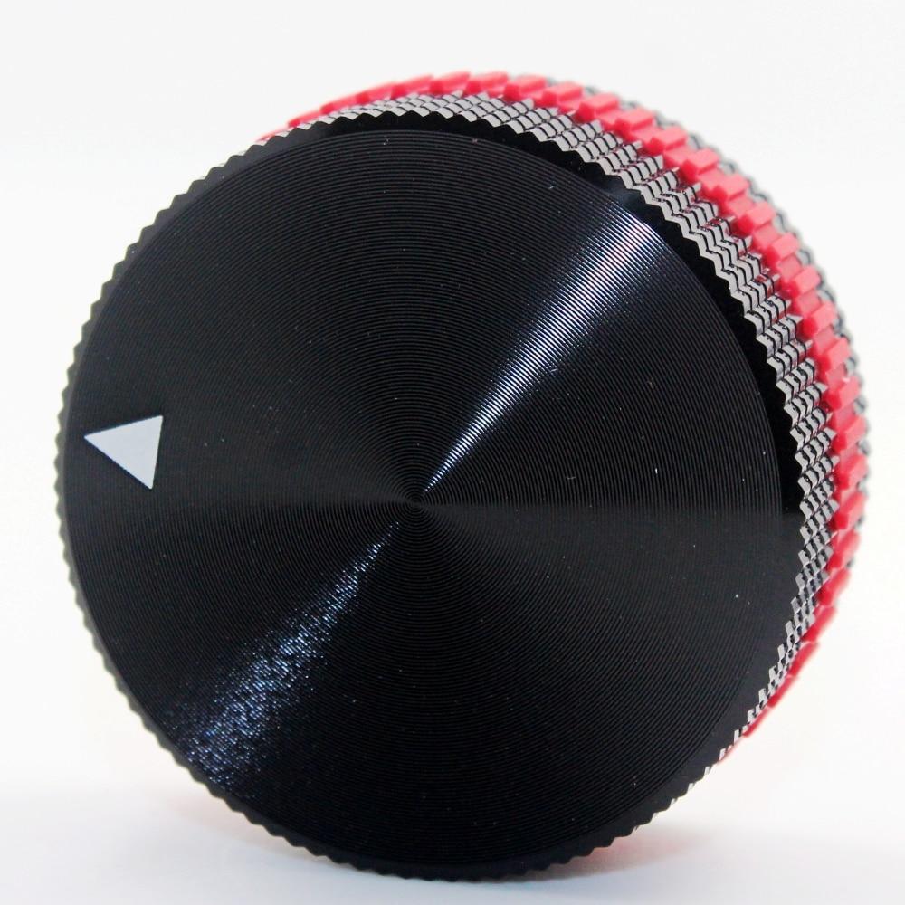1pcs Aluminum Knob Potentiometer Knob Audio Volume Knobs Encoder Knob 40 X 18mm