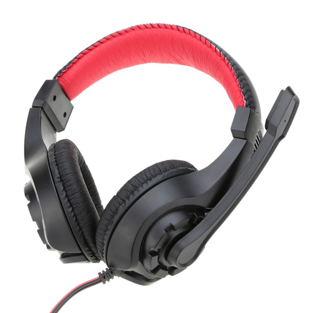 Gaming Headphones with Microphone 3.5MM jack Stereo Heavy Bass Headset earphones for Laptop Computer PC game Lupuss G1