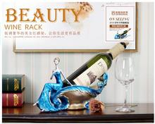 Creative wine rack Household act the role ofing is tasted furnishing articles wine ark adornment beauty wine rack цена