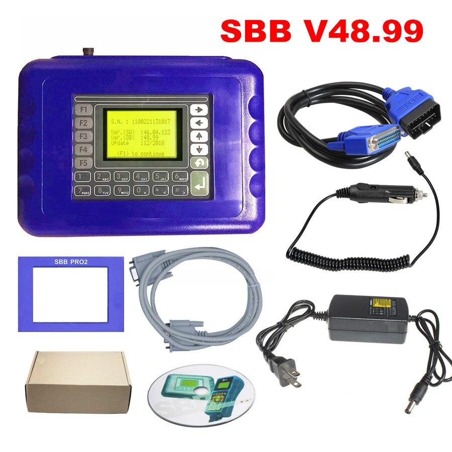 Sbb Pro2 V48 88 V48 99 Evrensel Oto Anahtar Programcı Silca V48 88 V48 99 Sbb Immobilizer Anahtar üreticisi Profesyonel Teşhis