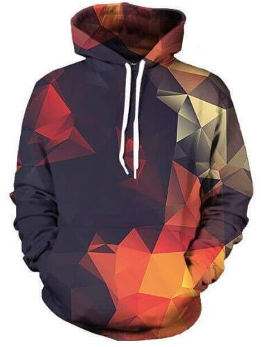 Abstract Glow Hoodie Casual Pullover Women men Free Shipping Crewneck Long Sleeve Outfits Tops Plus Size