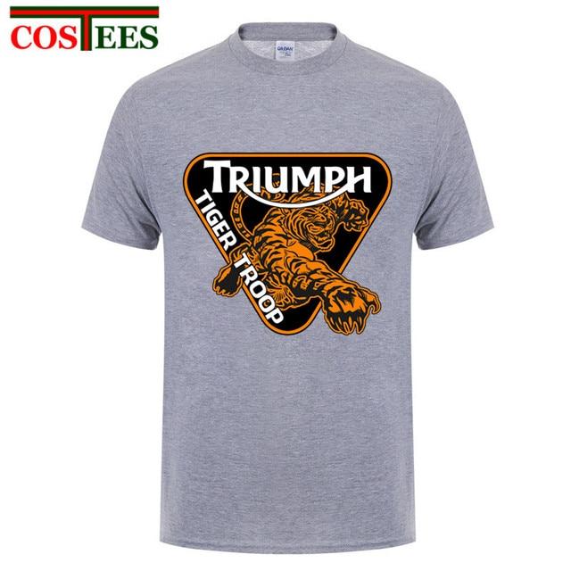 Triumph Triple De Hombres Camisetas 1050 Motocicleta Manga Speed qEU4wSTT