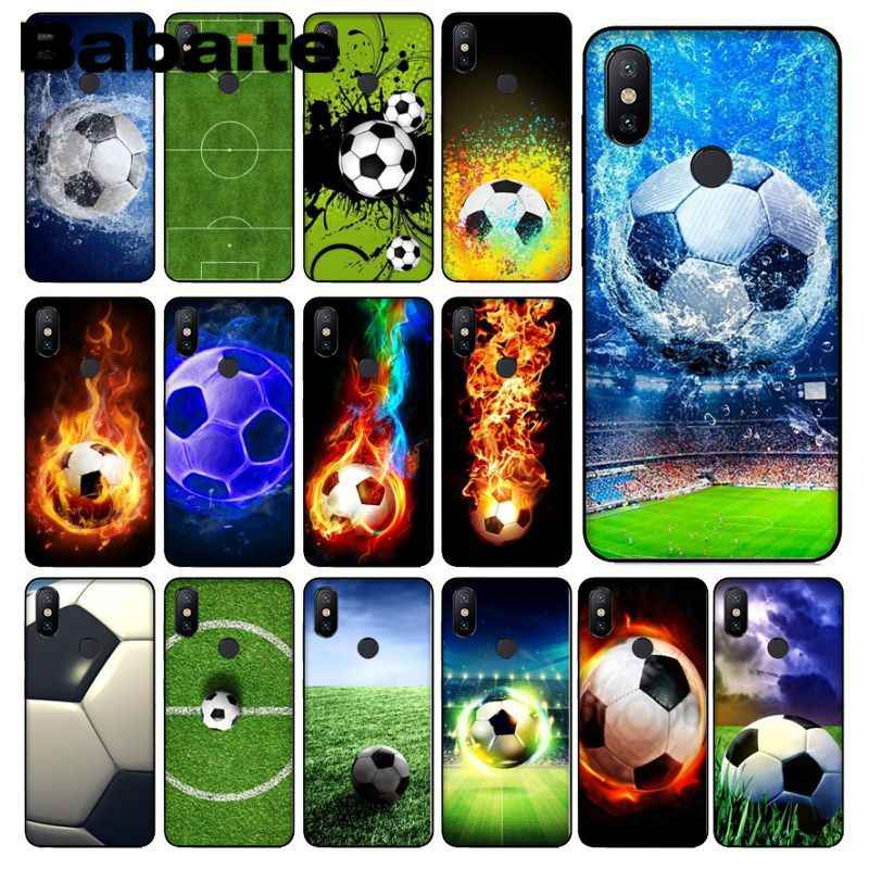 Babaite Soccer football field Printing Drawing Phone Case cover Shell For redmi 5plus 5A 6pro 4X note5A note4x note7 6A Cover