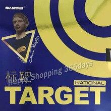 Sanwei TARGET(национальный) Pips-в настольном теннисе Резина(синяя губка