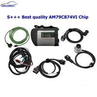 S + + + best качество AM79C874VI чип MB STAR C4 MB SD подключения компактный 4 инструмента диагностики с WI FI Функция (без HDD)