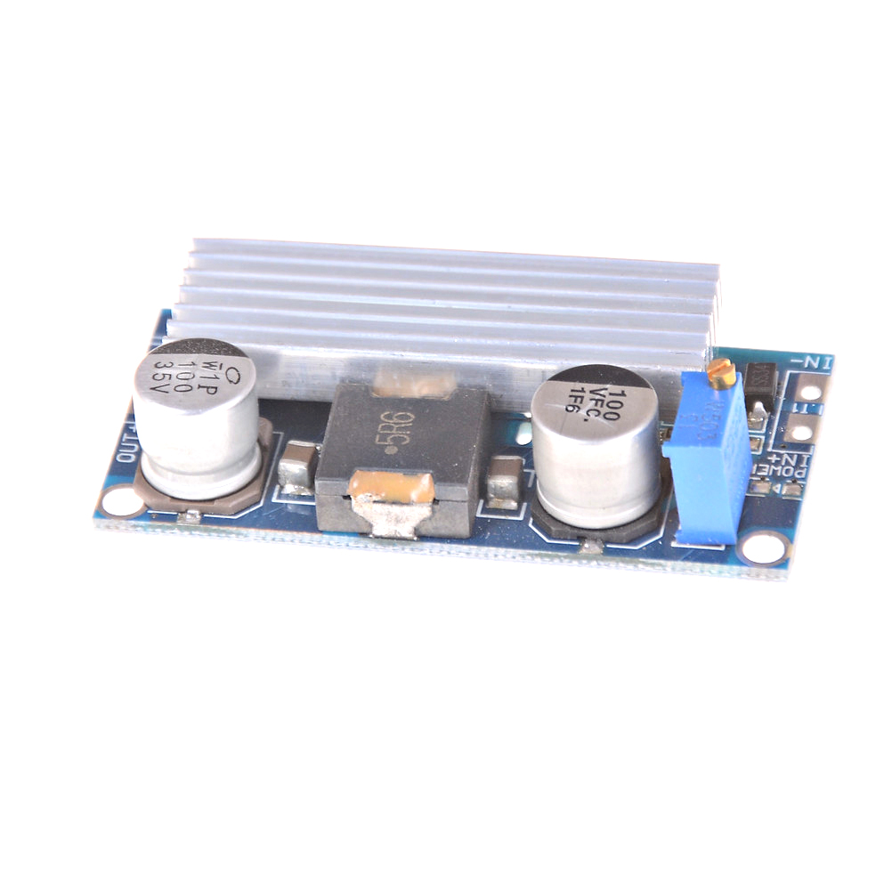 100W DC-DC Boost Step Up Converter 4-30V to 5-35V 12V 24V 9A Power Supply Module image