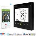 Wi-Fi умный термостат регулятор температуры для воды/Электрический пол Отопление воды/газовый котел работает с Alexa Google IFTTT