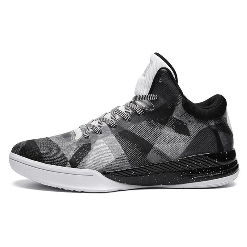 Men's Basketball Shoes High Top Basketball Ankle Boots Outdoor Shock Absorption Athletic Basketball Brand Sport Shoes Sneakers peak sport men basketball shoes authent breathable comfortable sneakers outdoor athletic training rubber outsole ankle boots