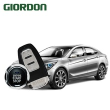 Mobile phone automatic induction control car one key start anti-theft system PKE keyless access mobile remote