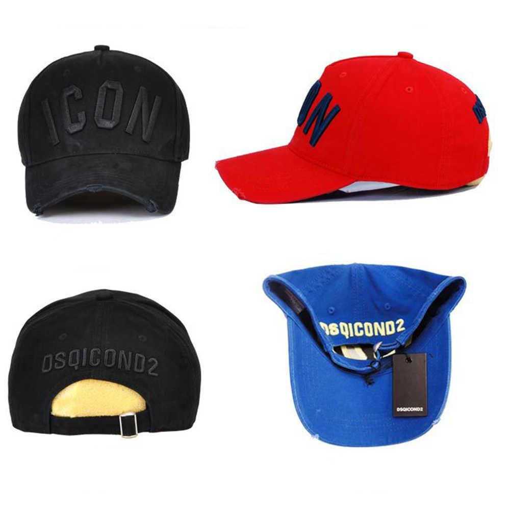 Dskicont2 casual marca snapback boné de beisebol para mulher 2018 ícone sólido carta snapback bonés dsq verão osso gorras casquette