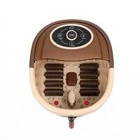 1pc Portable Foot Tub Massager With Multi Function Conver Plug Foot Spa Bath Massage Bubble Heat