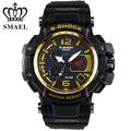 SMAEL Outdoor Sport Watches Big Dial Dual Display Wristwatch Analog LED Digital Quartz Watch relogio masculino Clock Men WS1509
