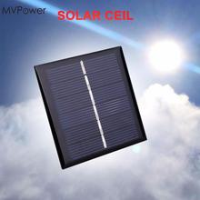 MVPower Solar Cells 0.42W 3V Polycrystalline Solar Panel Portable DIY Sunpower Solar Power Cell outdoor camping