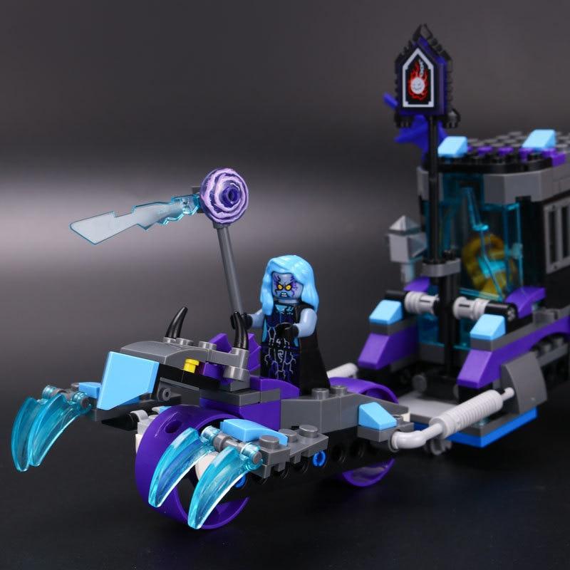 Nya Nexus Knights Building Blocks ställer in Ruina Lock & Roller Figures Barnens present tegel leksaker för barn kompatibla drop shipping